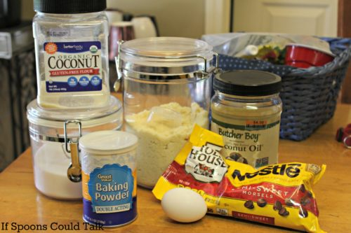 sugar free low carb cookie ingredients