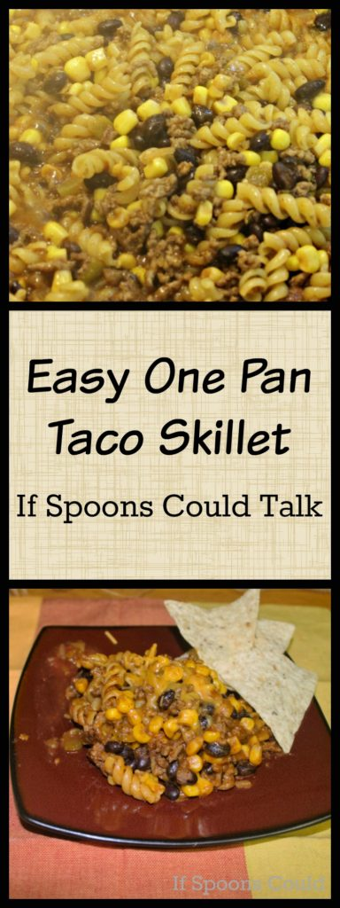 Easy one pot Taco Skillet Meal