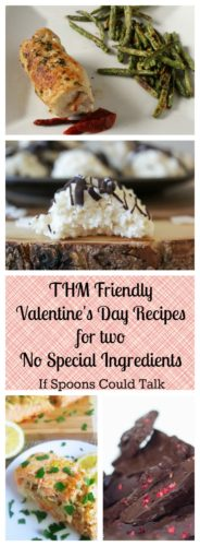 Healthy Valentine's Day Recipes that are all on Trim Healthy Mama. Have no special ingredients. They are easy but look fancy, perfect for a weeknight Valentines